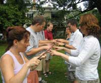Team Building Games: Helium Stick